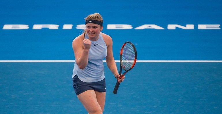 Элина Свитолина пробилась в полуфинал турнира WTA Premier - фото 1