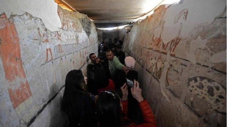 Новая гробница в Египте - фото 1