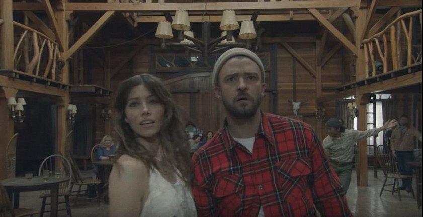 """Man of the Woods"": Джастин Тимберелейк с женой - фото 1"