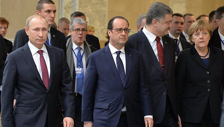 Переговоры в Минске 12 февраля 2015 года - фото 1