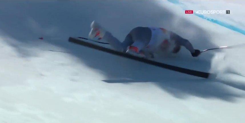 Павел Трихичев слетел со спуска - фото 1