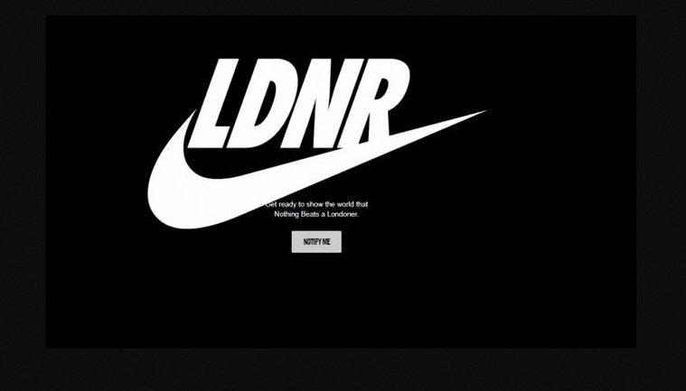 Новый логотип  Nike к лондонскому марафону - фото 1