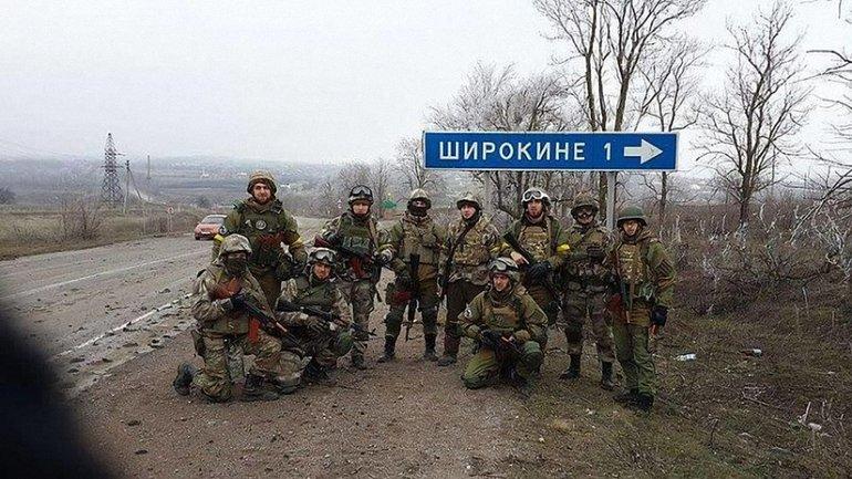 Украинские защитники ликвидировали боевиков в Широкино - фото 1