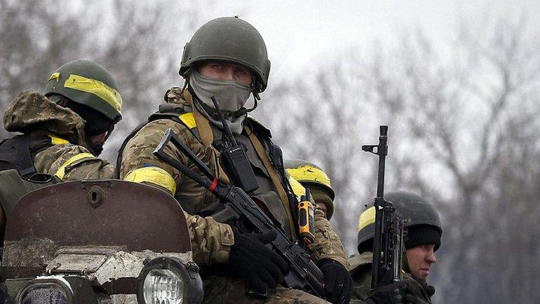 Агрессор совершил 32 обстрелапозиций украинских защитников - фото 1