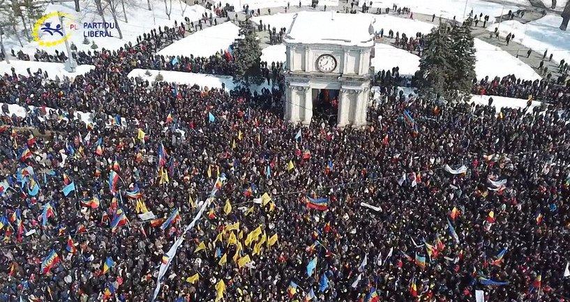 Марш унионистов в Румынии собрал десятки тысяч - фото 1