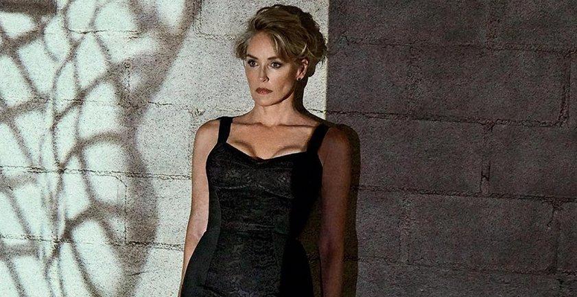 Шэрон Стоун похвасталась неувядающей красотой в пикантном наряде - фото 1