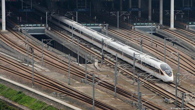 Китайский поезд Fuxing - фото 1