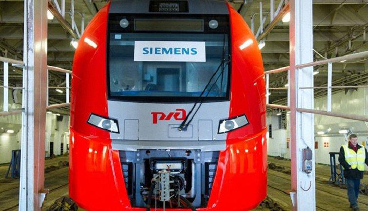 Локомотив Siemens - фото 1