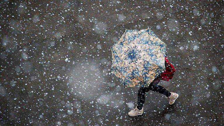 На Украину надвигается снег с дождем - фото 1