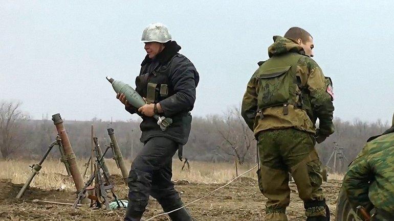 Боевики вели огонь из минометов в Луганской области - фото 1