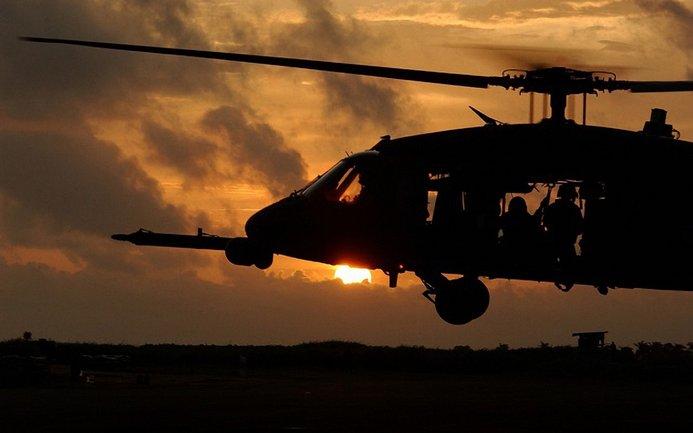 Американский вертолет вместе с экипажем разбился на границе с Сирией - фото 1
