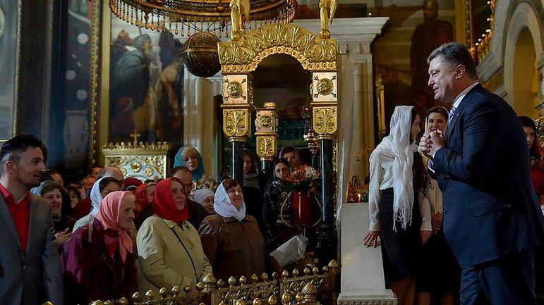 Порошенко разыгрывает религиозную карту - фото 1