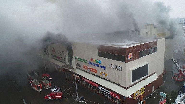 В пожаре в Кемерово погибли более 60 челоек - фото 1