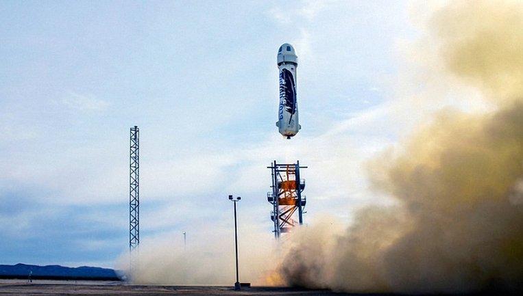 Космический туризм на борту New Shepard - фото 1