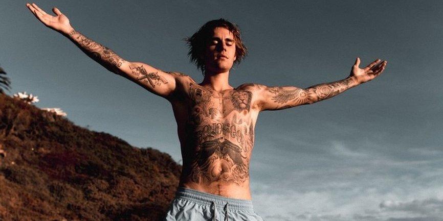 Джастин Бибер рассказал о своем культе татуировок - фото 1