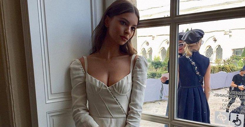 Эмили Ратажковски рассказала, как прошла ее свадьба - фото 1