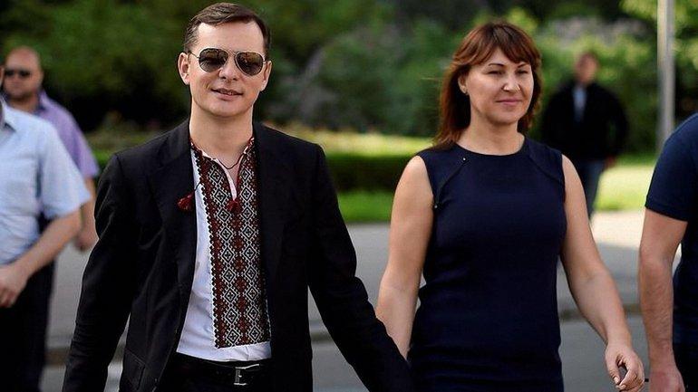Олег Ляшко со своей гражданской женой Роситой - фото 1