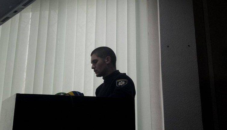Патрульный Денис Мягкоголов стал свидетелем резонансного ДТП в Харькове - фото 1