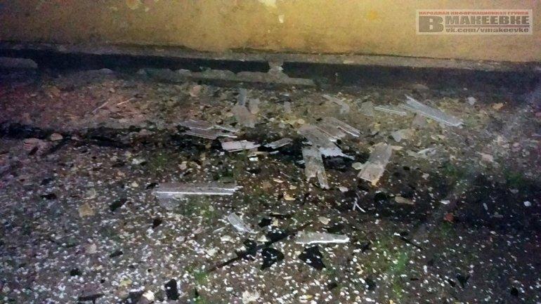 """В Макеевке произошел взрыв возле """"полиции"""" - фото 1"""