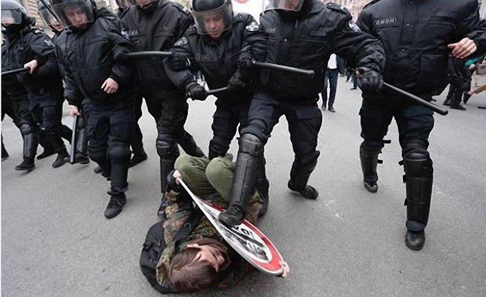 Задержание протестующих - фото 1