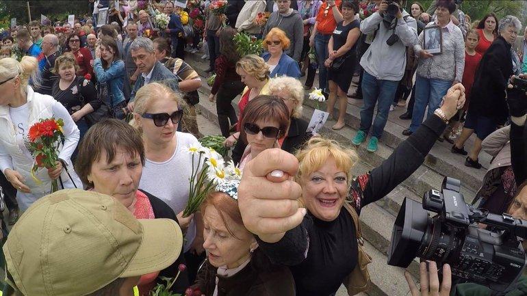 Кто тянет Украину в прошлое, Одесса 9.05.2018 - фото 1