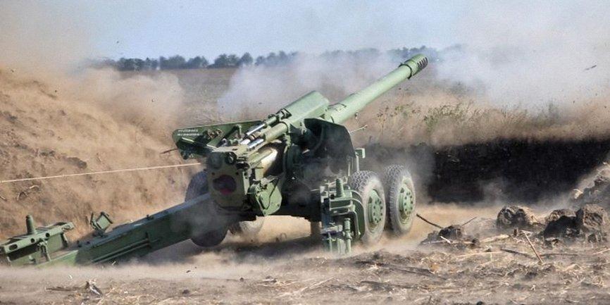 Российские военные били из артиллерийских систем - фото 1