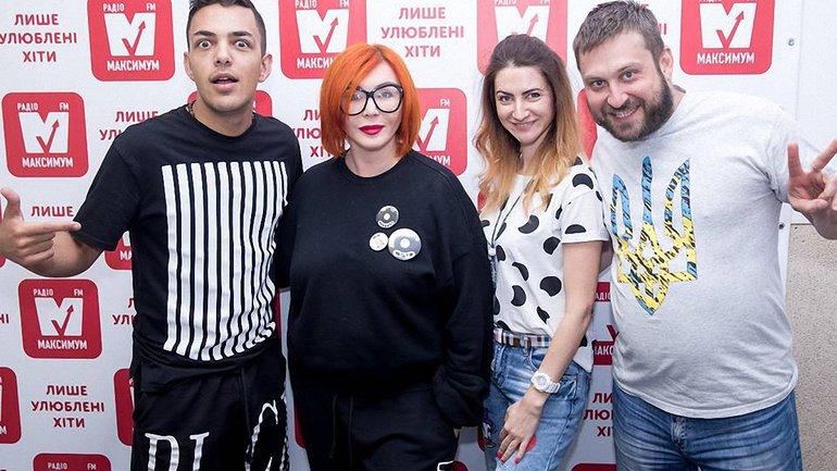 Ірина Білик на радіо МАКСИМУМ - фото 1