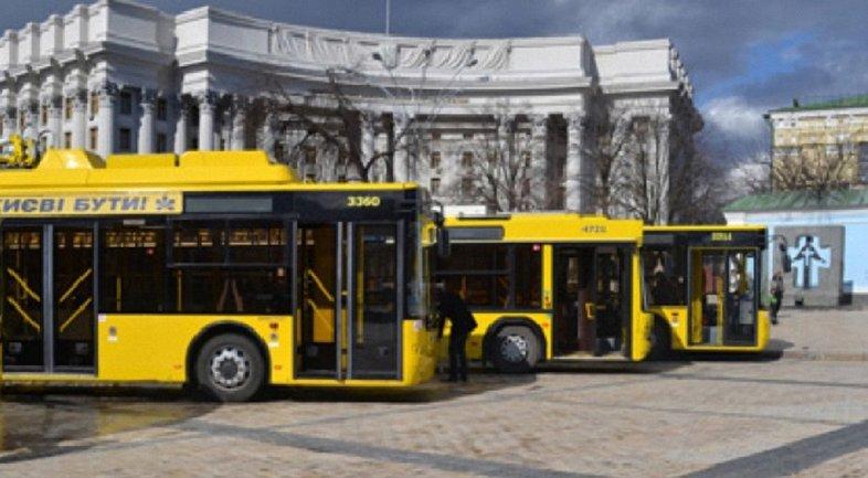 В Киеве 13 мая общественный транспорт изменит маршрут движения - фото 1