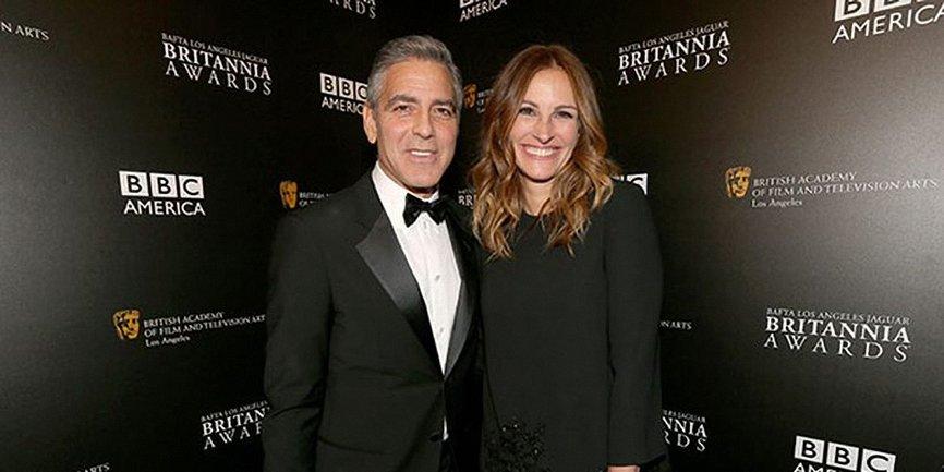 Джулия Робертс вручит награду Джорджу Клуни - фото 1