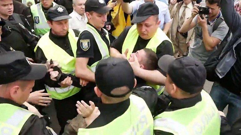 Задержан участник националистической молодежной организации - фото 1