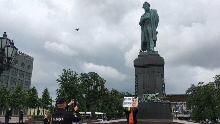 Олег Сенцов голодує 12 день - фото 1