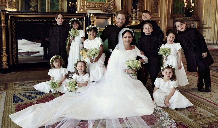 Обнародованы первые официальные фото с королевской свадьбы - фото 1