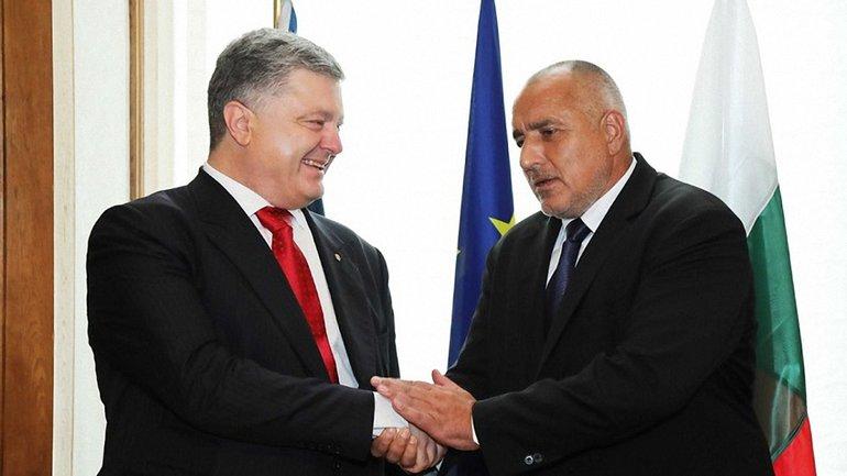 Петр Порошенко с Бойко Борисовым договорились о строительстве автодороги Одесса–Варна - фото 1