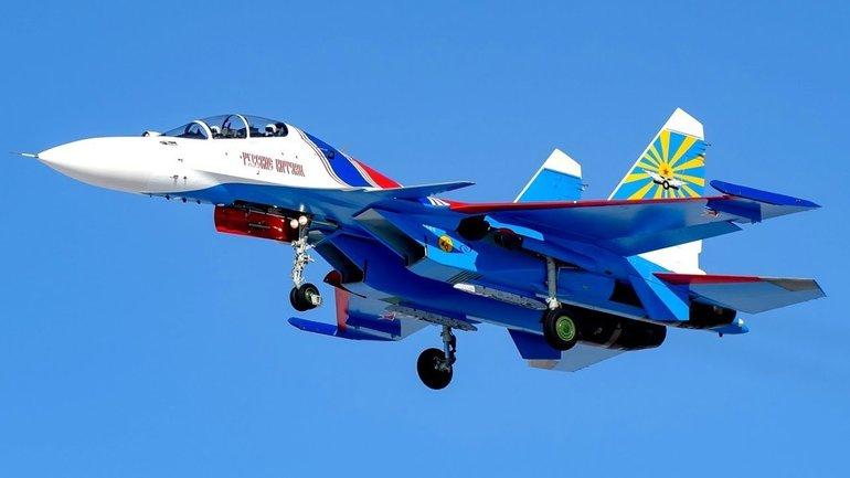 Су-30СМ загрязняет экологию Средиземного моря - фото 1