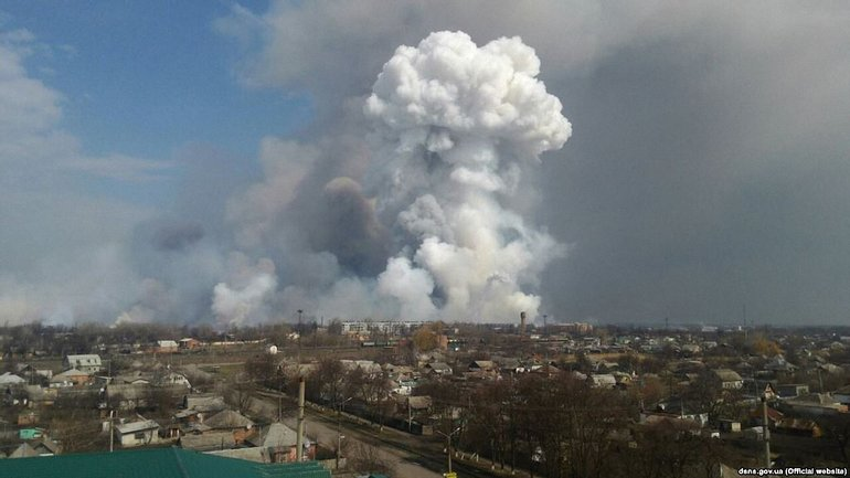 Взрывы в Балаклее начались снова 3 мая - фото 1