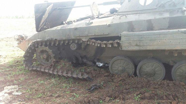 На Добнассе украинские военные попали в засаду - фото 1
