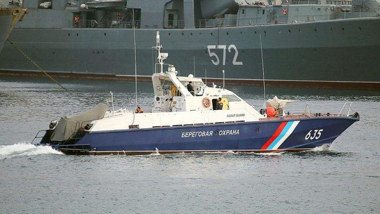 Российские террористы тормозят международные суда в Керченском проливе - фото 1