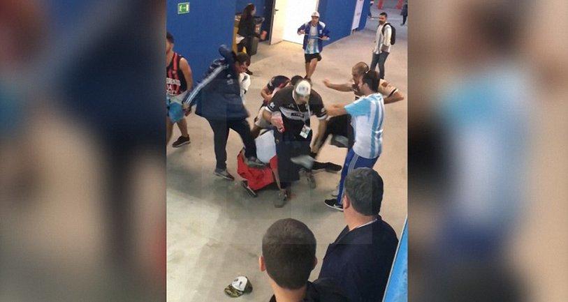 Аргентинцы жестоко избили хорвата - фото 1