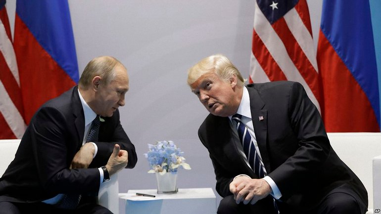 Владимир Путин и Дональд Трамп - фото 1