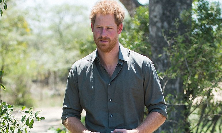 Принц Гарри в Африке открыл школу - фото 1