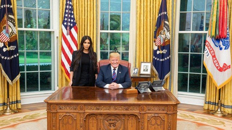 Ким Кардашьян добилась от Трампа, чего хотела - фото 1