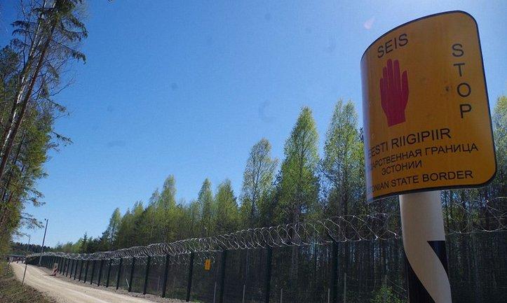 Эстония установит современные средства слежения и охраны на границе с Россией - фото 1