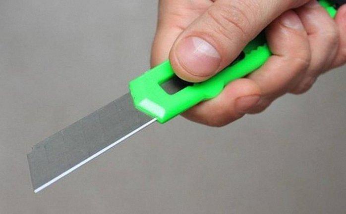 Мужчине вскрыли вены и перерезали горло канцелярским ножом - фото 1