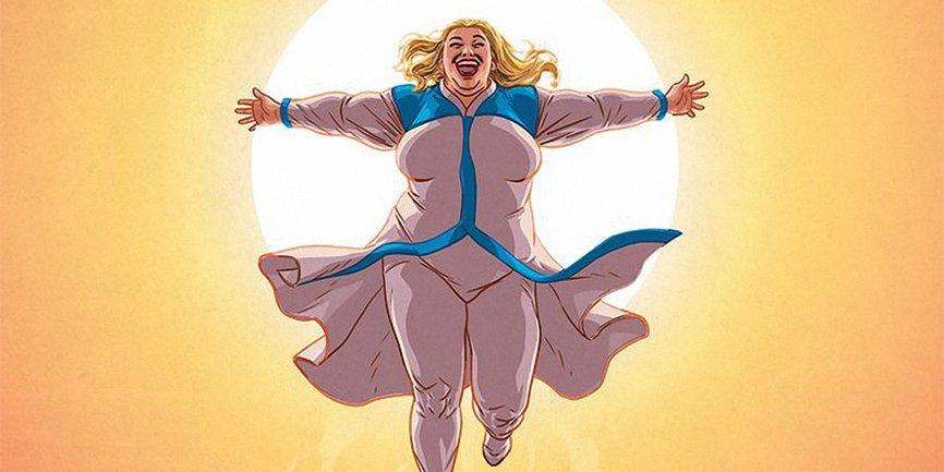 Sony Pictures создаст фильм о пышнотелой супергероине - фото 1
