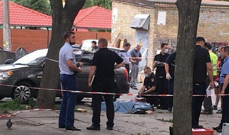 В Киеве расстреляли полицейского - фото 1