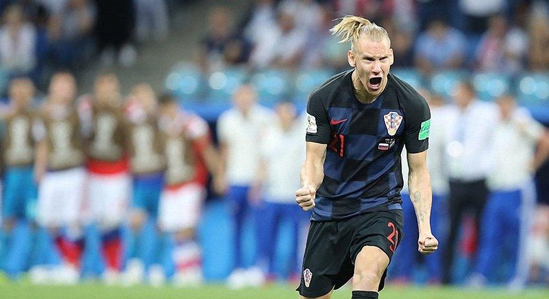 Защитниксборной Хорватии Домагой Вида - фото 1