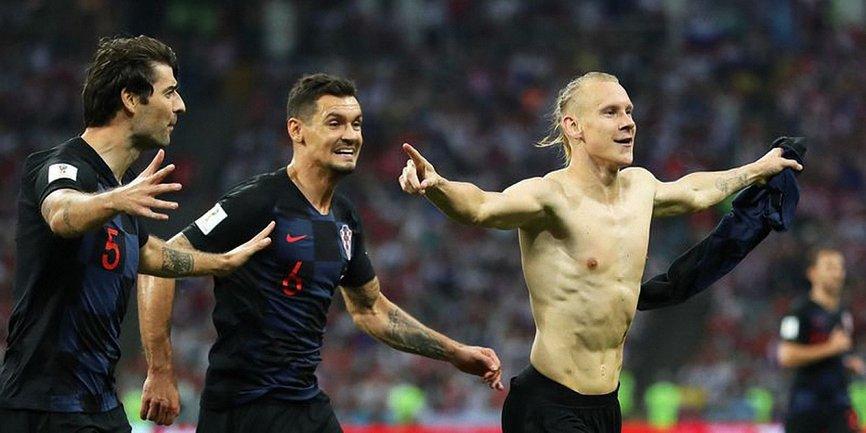 ФИФА не стала наказывать защитника сборной Хорватии Домагоя Виду - фото 1