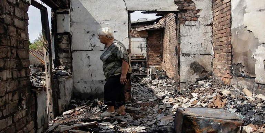 На Донбассе за полгода пострадали 150 мирных граждан - фото 1
