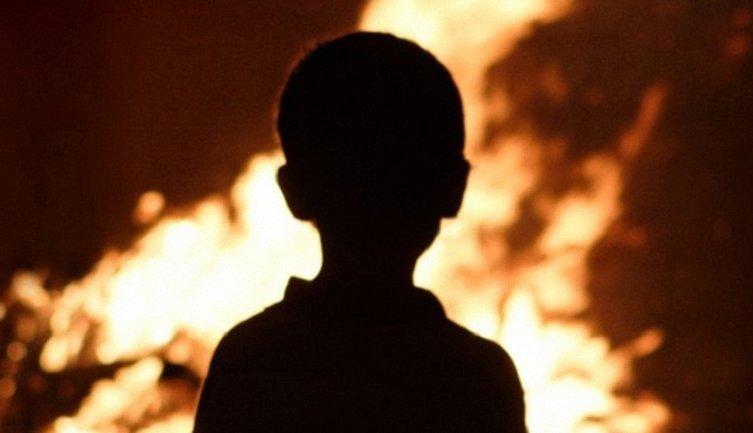 В Харьковской области умер ребенок, упавший в костер на Ивана Купала - фото 1