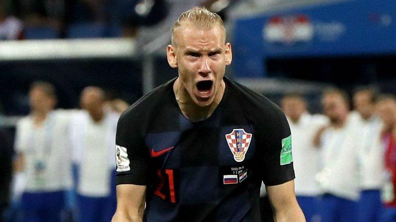 Домагой Вида - герой матча Хорватия  Россия - фото 1